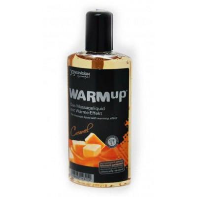 Разогревающее масло WARMup Caramel - 150 мл.