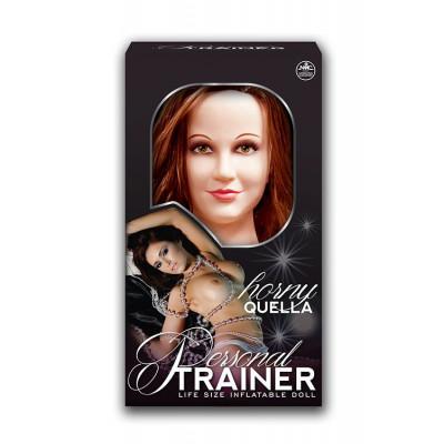 Реалистичная надувная секс-кукла PERSONAL TRAINER HORNY QUELLA