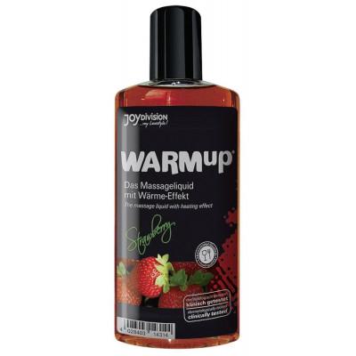 Разогревающее масло WARMup Strawberry - 150 мл.