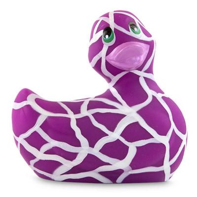 Филетово-белый вибратор-уточка I Rub My Duckie 2.0 Wild